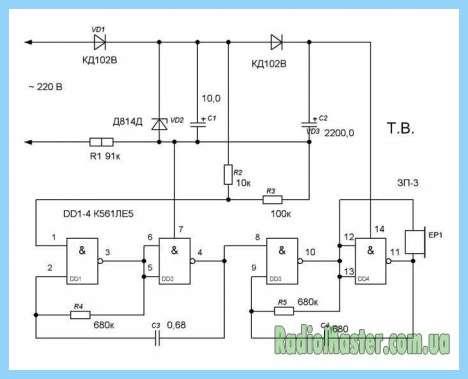 EB218 схема подключения