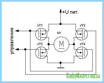 Драйвер двигателя постоянного тока своими руками на транзисторах 65