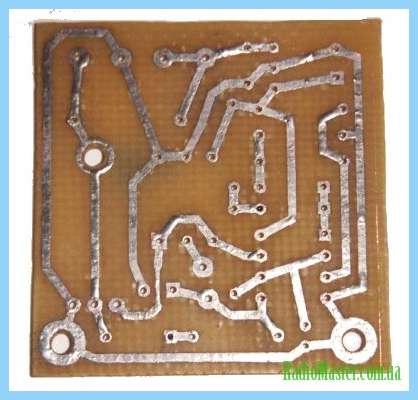 Схема регулятора для микродрели.