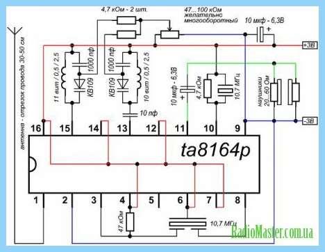 Схема Аккумуляторный фонарь