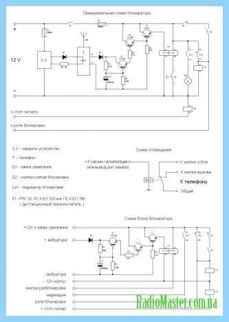Схемы сенсорного переключателя