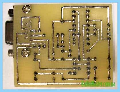Схема программатора микросхем eeprom.