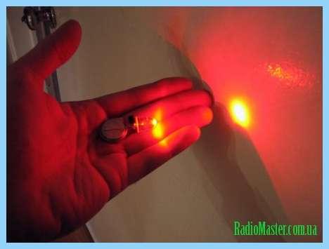 Электрическая схема китайского фонарика.
