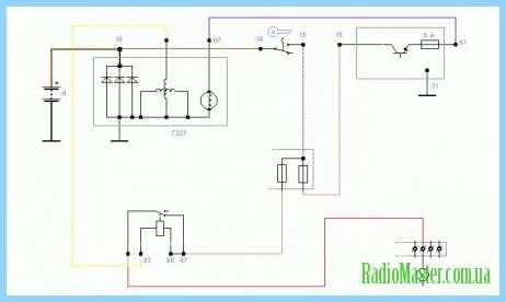 Рис. 3 Схема Af50n регулятор