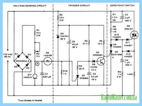 BT12 характиристика Схема