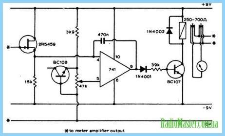 схему подключения лампы