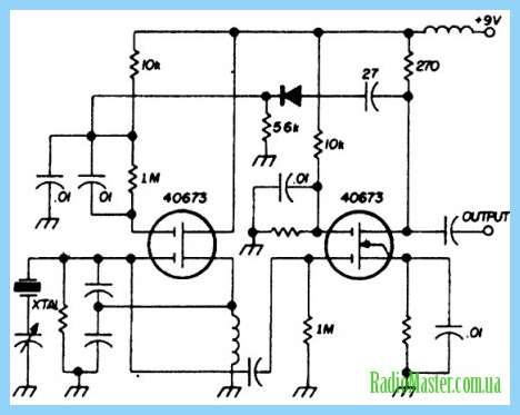 Генератор световых импульсов на 155ла3.