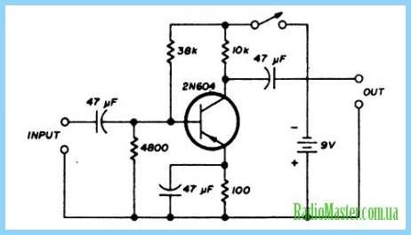 1) с Схемы регулятора на