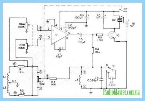 Схема регулятора на тс106-10