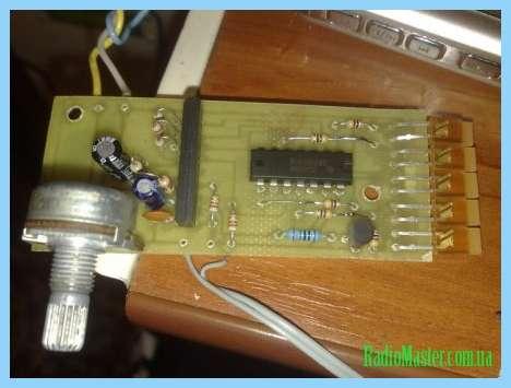 An6884 принципиальная схема индикатора для аккумулятора.