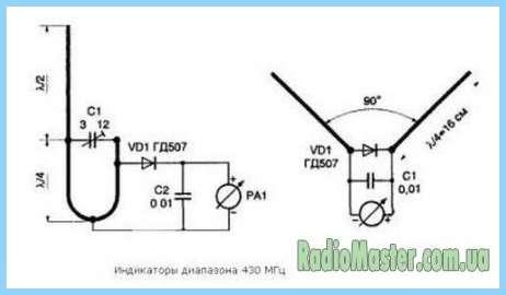 Измеритель электромагнитного поля своими руками.