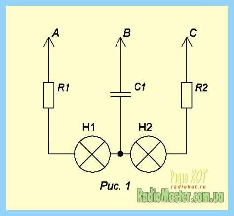 Светодиоды от 220 вольт схема.