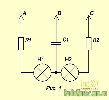 Схема: Определение чередования
