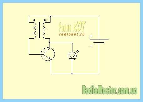 Схема как подклучить светодиод 220вольт.