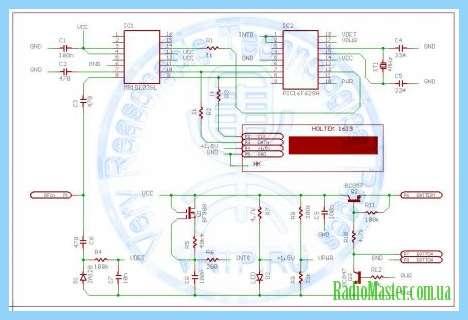 Схема электросчетчика ник