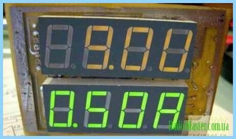 Автомобильные индикаторы напряжения схемы.