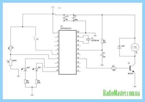 Схема Схемы с транзистором