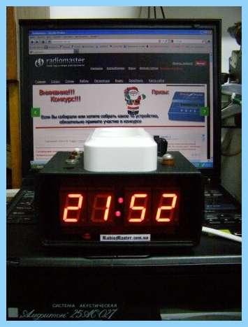 Часы-Таймер.  CХЕМА таимера вкл.выкл на микросхеме к561тм2 Это вторая.