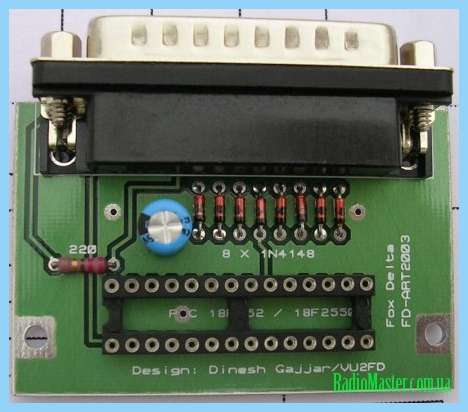 Com программатор для pic18f2550