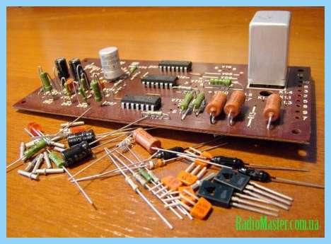 блок защиты галогенной лампы 12 схема
