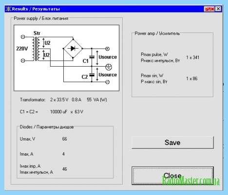 Расчет трансформатора полумостового преобразователя с ЗК.