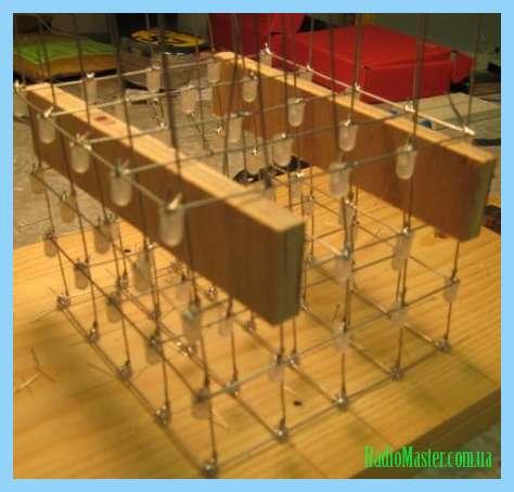 Схема светодиодного куба 8х8х8