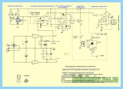 самодельный терморегулятор