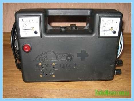 Зарядка для шуруповерта 18 вольт схема 144