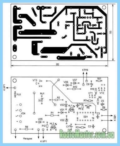 Схемы с транзистором кт805