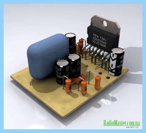 Схема электрофона каравелла
