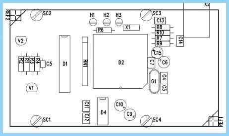 Микроконтроллер измеритель rlc