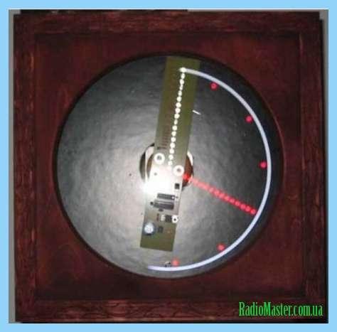 Самодельные электронные часы на газоразрядных лампах.