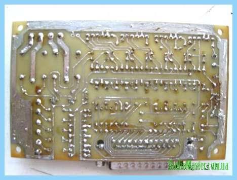 Интерфейсная плата с опторазвязкой порта LPT для станка ЧПУ (CNC) V2.2.