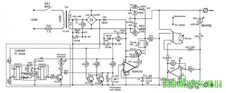 автомобильное зарядное устройство start 15 2 схема
