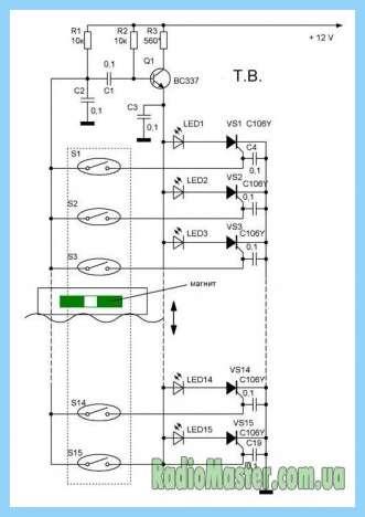 Схемы контроля уровня воды
